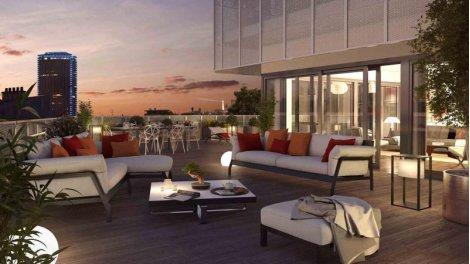 Appartement neuf 8 Campagne-Première éco-habitat à Paris 14ème