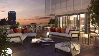 Appartements neufs 8 Campagne-Première éco-habitat à Paris 14ème
