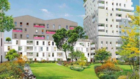 Appartement neuf Symphonie Alto éco-habitat à Evry