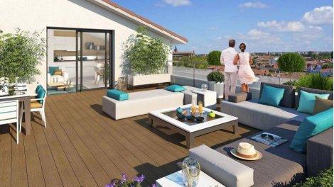Appartement neuf Le Jardin des 36 Ponts à Toulouse
