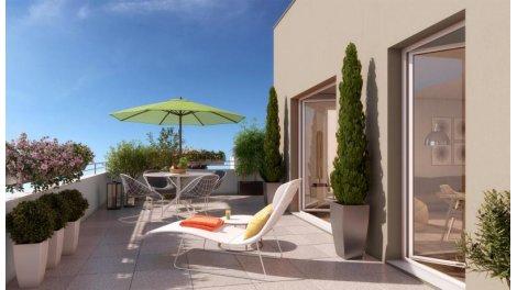 Appartement neuf Le Clos de la Grange investissement loi Pinel à Bois-d'Arcy