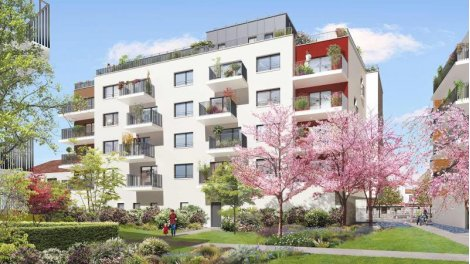 Appartement neuf Ellipse - Nue-Propriété éco-habitat à Le Bourget