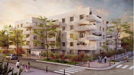 Appartement neuf Respire investissement loi Pinel à Vaulx-en-Velin