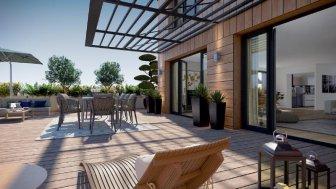 Appartements et maisons neuves Quai 54 éco-habitat à Bordeaux