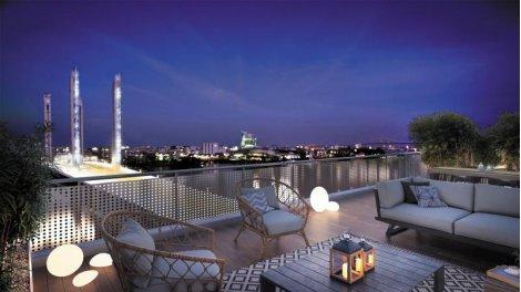 Appartement neuf Quai 56 éco-habitat à Bordeaux