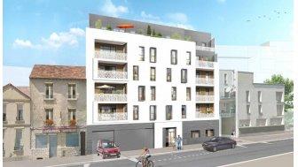 Appartements neufs Esprit Canal investissement loi Pinel à Aubervilliers