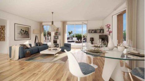 Appartement neuf Au Fil de l'Ourcq investissement loi Pinel à Bobigny