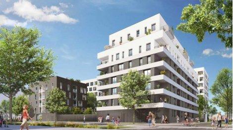 Appartement neuf O'Smose investissement loi Pinel à Villeurbanne