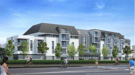 Appartement neuf Les Domaines de l'Etier - Nue Propriété éco-habitat à Le Pouliguen