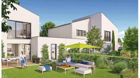 Appartements et maisons neuves Au Fil du Canal éco-habitat à Villeneuve-Tolosane