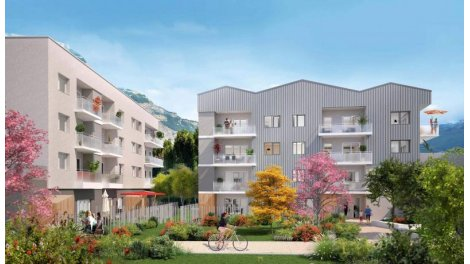 Appartement neuf Hello Garden investissement loi Pinel à Saint-Martin-d'Hères