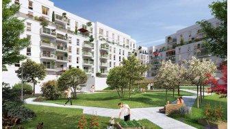 Appartements neufs Terre de Qwartz investissement loi Pinel à Villeneuve-la-Garenne