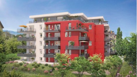 Appartement neuf Cèdre Rouge à Saint-Julien-en-Genevois