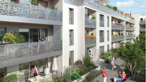 Appartement neuf Clos des Noyers éco-habitat à Aubervilliers
