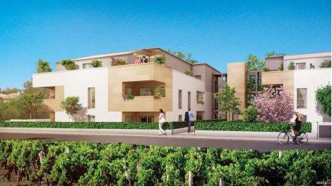 Appartement neuf Coeur de Vignes éco-habitat à Pessac