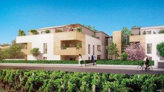 Appartements neufs Coeur de Vignes éco-habitat à Pessac