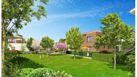 Appartement neuf Duo sur Jardins éco-habitat à Toulouse