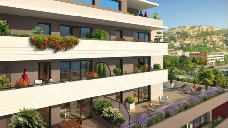 Appartement neuf Niceo investissement loi Pinel à Nice