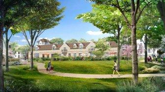 Appartements et maisons neuves Domaine Sisley éco-habitat à Andresy