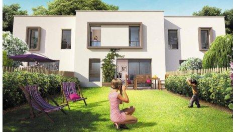 Appartements et maisons neuves Coeur Boisé investissement loi Pinel à Haguenau