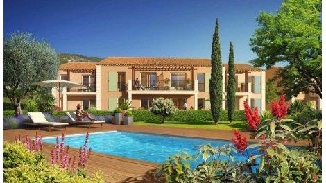 Appartement neuf Ecrin Vert éco-habitat à Sainte-Maxime