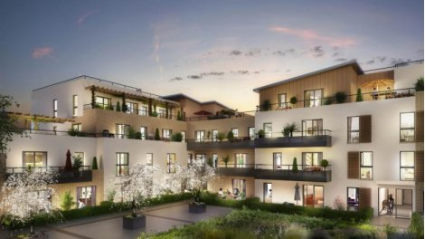 Appartement neuf Les Terrasses d'Attilly éco-habitat à Villecresnes
