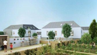 Appartements neufs Les Vergers du Prieuré éco-habitat à Bouguenais