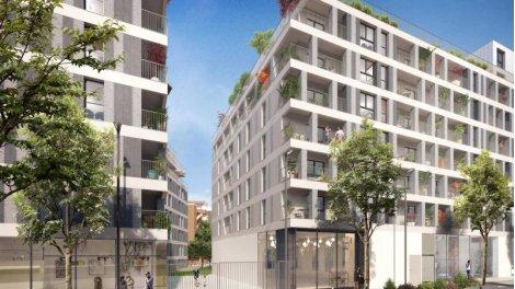 Appartement neuf L' Atelier investissement loi Pinel à Romainville