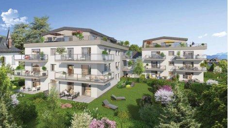 Appartement neuf Belle Epoque éco-habitat à La Roche sur Foron