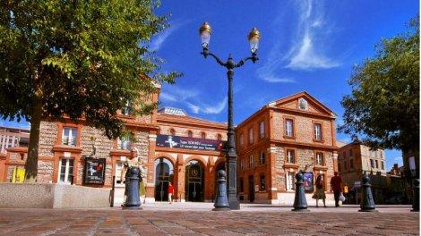 Appartement neuf Côte Pavée éco-habitat à Toulouse