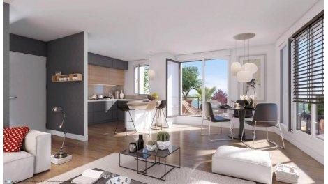 Appartement neuf Elixir éco-habitat à Colombes