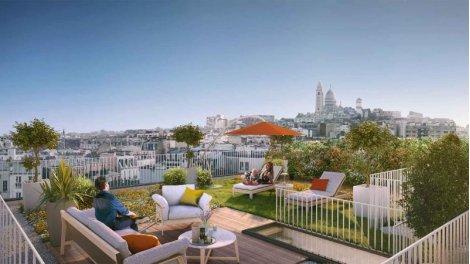 Appartement neuf 122 Damrémont éco-habitat à Paris 18ème