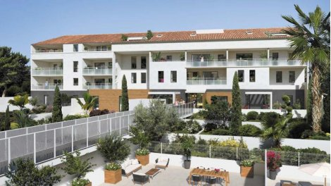 Appartement neuf Esprit Calanques investissement loi Pinel à Marseille 8ème