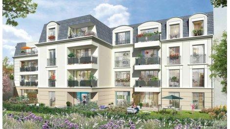 Appartement neuf Le Clos Saint-Louis éco-habitat à Saint-Cyr-l'Ecole