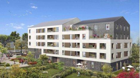 Appartement neuf Le Carré Verger éco-habitat à Lieusaint