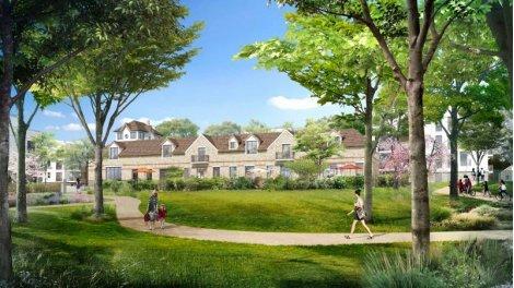 Appartements et maisons neuves Domaine Sisley à Andresy