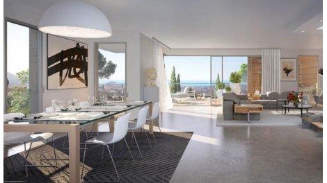 Appartement neuf Le Domaine de Gairaut éco-habitat à Nice