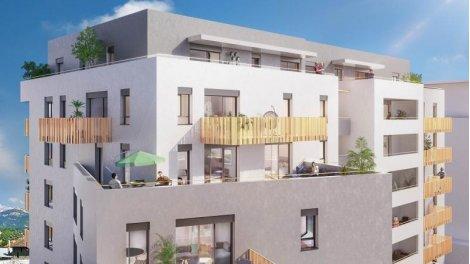 Appartement neuf Golden Sky investissement loi Pinel à Chambéry