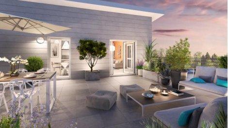 Appartement neuf Les Rives d'Or éco-habitat à Lagny-sur-Marne