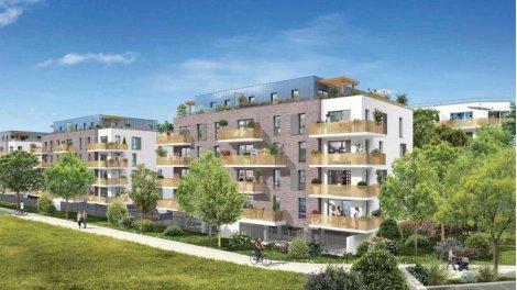 Appartement neuf Les Terrasses d'Organdi éco-habitat à Roncq