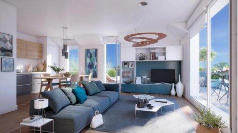 Appartement neuf Les Flaneries de l'Erdre investissement loi Pinel à Nantes
