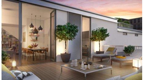 Appartement neuf Murmure du Temps éco-habitat à Paris 5ème