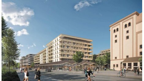 Appartement neuf Jardin au Coeur - Quartier Fischer investissement loi Pinel à Schiltigheim