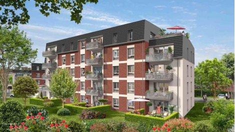 Appartement neuf Rive Droite éco-habitat à Saint-André-Lez-Lille