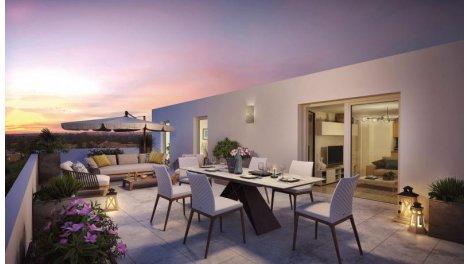Appartement neuf Les Lauriers investissement loi Pinel à Illkirch-Graffenstaden