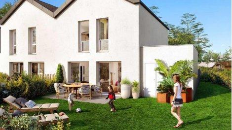 Appartements et maisons neuves Le Domaine de Casteroun éco-habitat à Saint-Vincent-de-Tyrosse