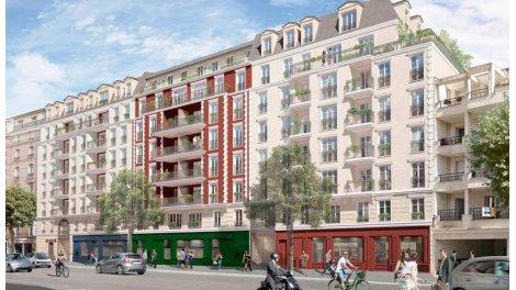 Appartement neuf Résidence Joséphine éco-habitat à La Garenne Colombes
