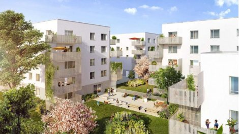 Appartement neuf Respire 2 investissement loi Pinel à Vaulx-en-Velin