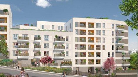 Appartement neuf Carré Watteau investissement loi Pinel à Vitry-sur-Seine