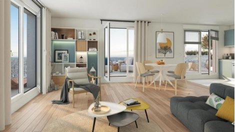 Appartement neuf Opaline investissement loi Pinel à Pantin